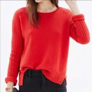 Madewell Women texturemix Sweater